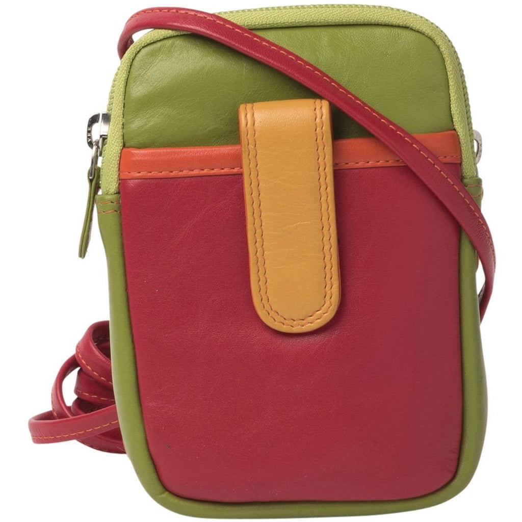 Gabee-Jo Mini Travel Leather Pouch-RED-Travel Wallet - Gabee Bags | Gabee.com.au - 2