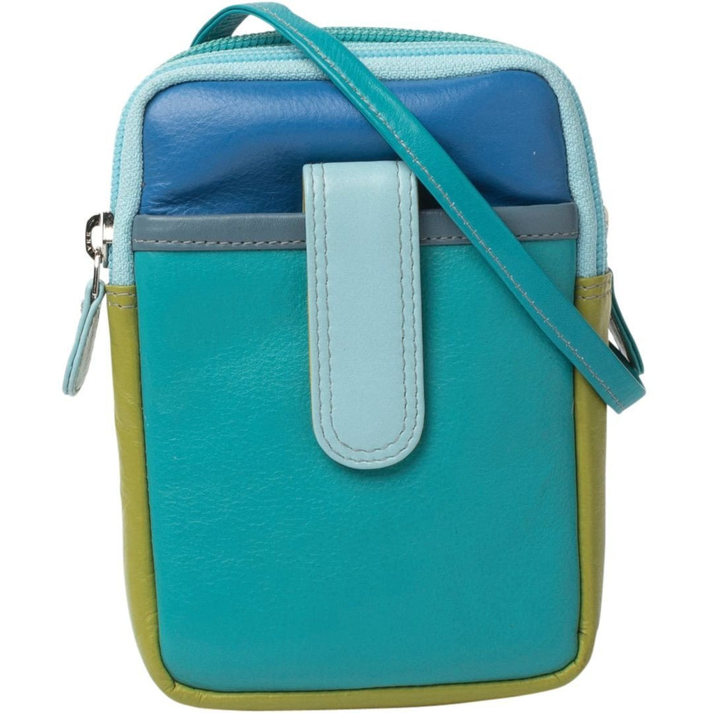 Gabee-Jo Mini Travel Leather Pouch-TEAL-Travel Wallet - Gabee Bags | Gabee.com.au - 3