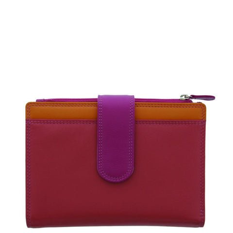 Cobb & Co-Alana Multi-colour Rfid Blocking Leather Wallet-CORAL-Womens Wallet - Gabee Bags | Gabee.com.au - 1