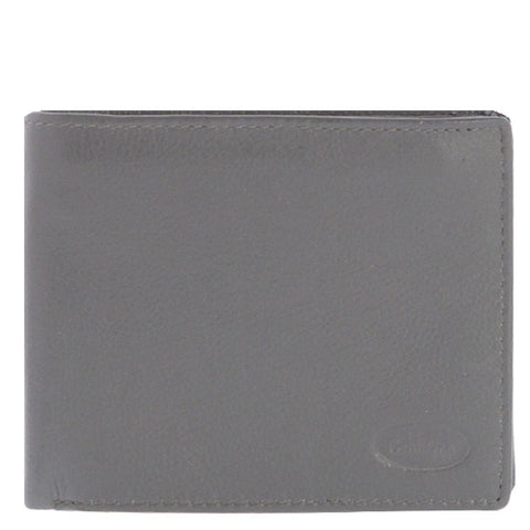 Hamish RFID Bifold Flap Over Leather Wallet