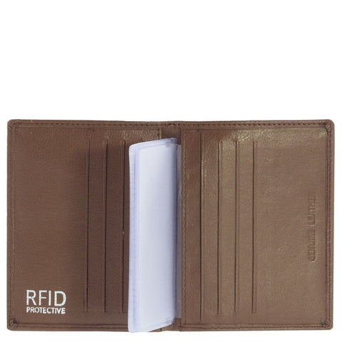 Andre RFID Slim Card Leather Wallet