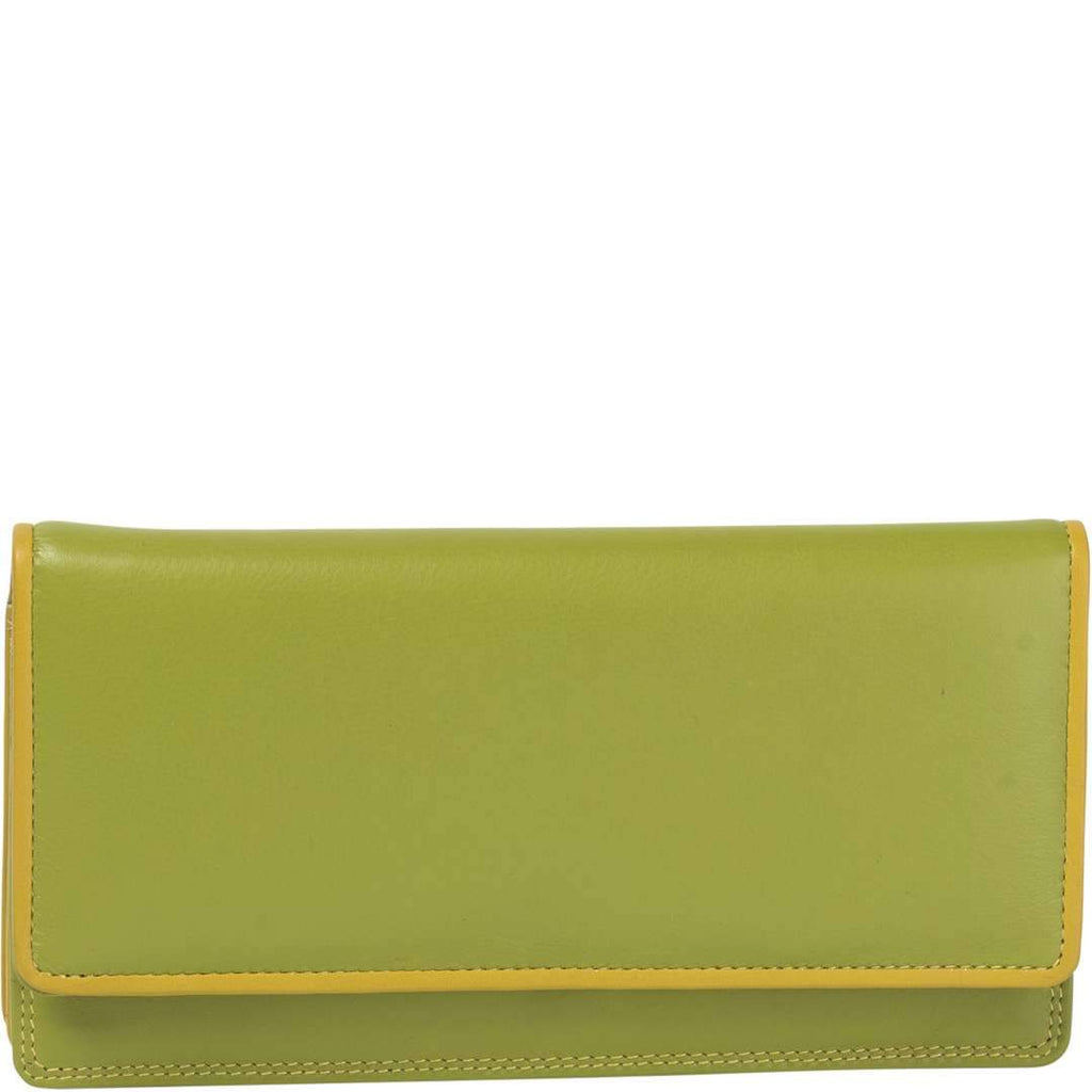 Caroline Leather Trim Wallet