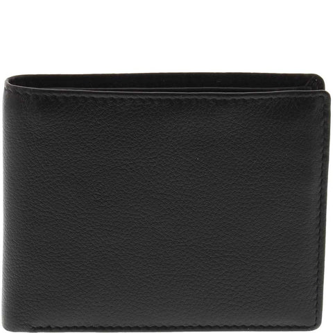Dom RFID Bifold Leather Wallet