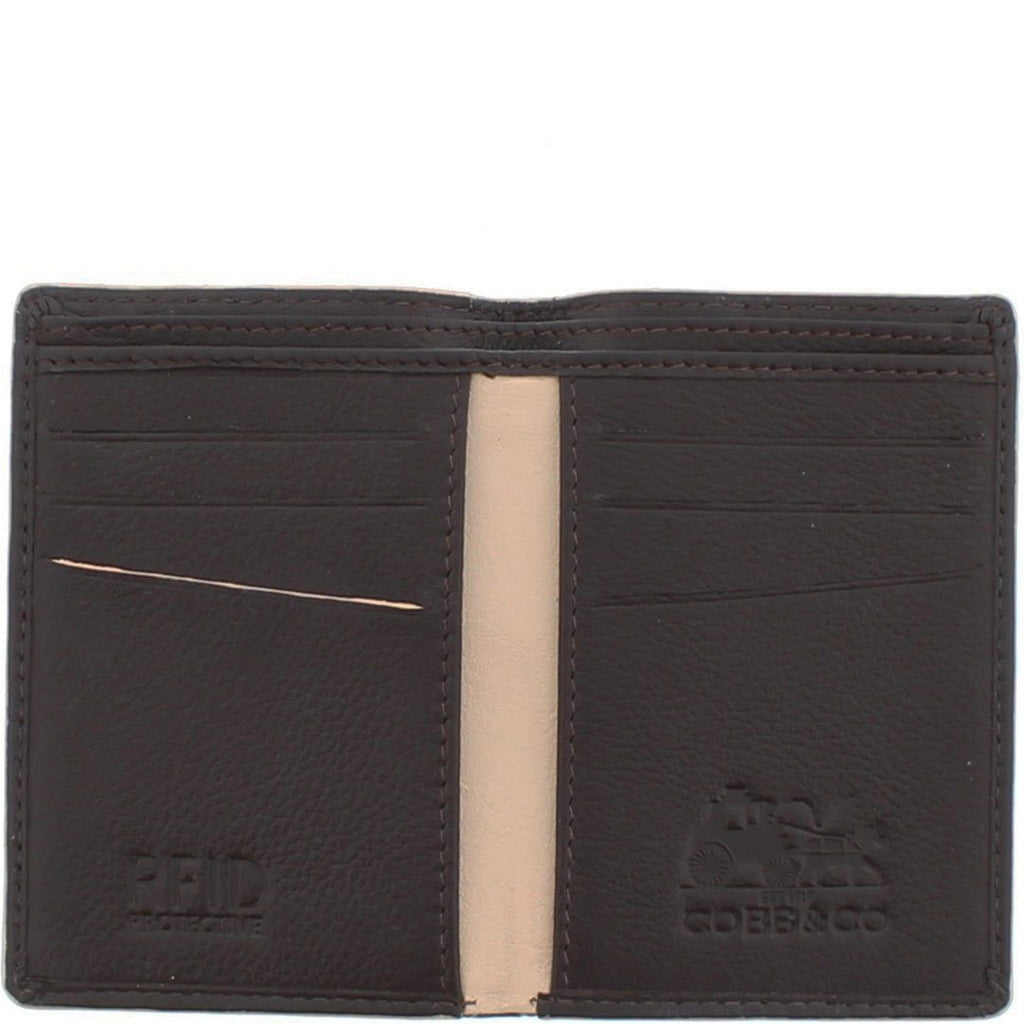 Dean RFID 2 Tone Leather Card Wallet