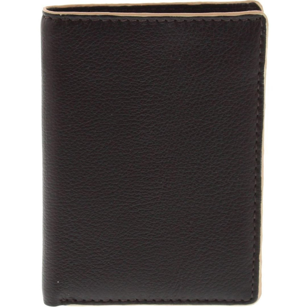 Cobb & Co-Rfid 2 Tone Leather Card Wallet-BROWN-Mens Wallet - Gabee Bags | Gabee.com.au - 1