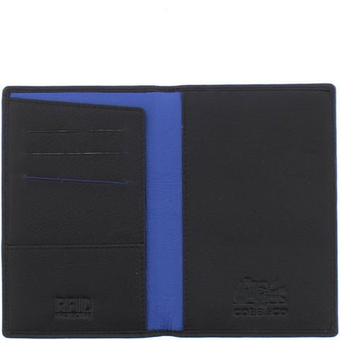 Billy RFID 2 Tone Leather Passport Wallet