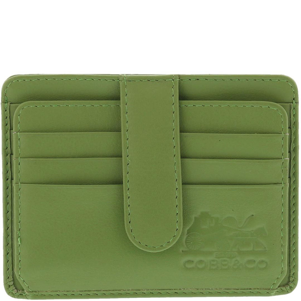 Stevie RFID Card Leather Holder