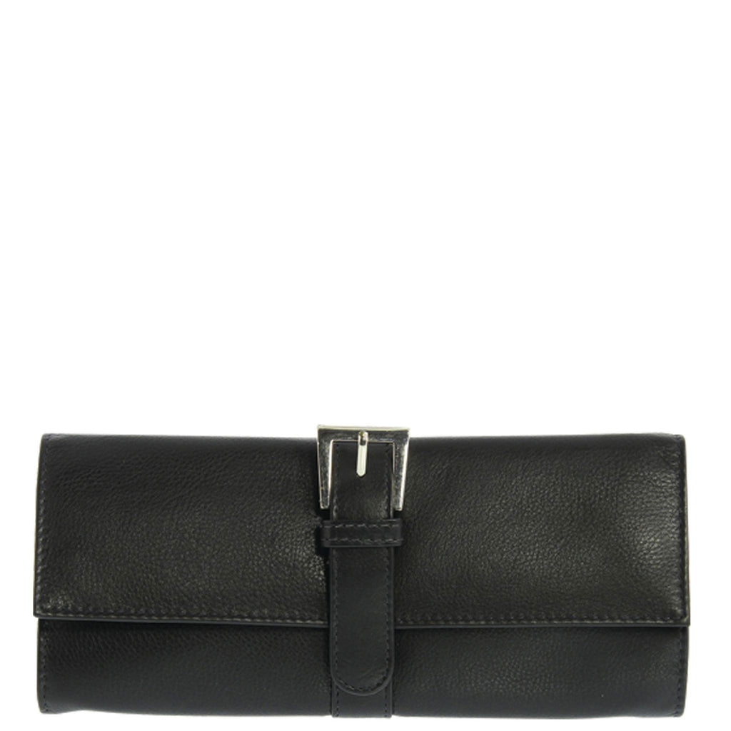 Julie Leather Jewellery Roll