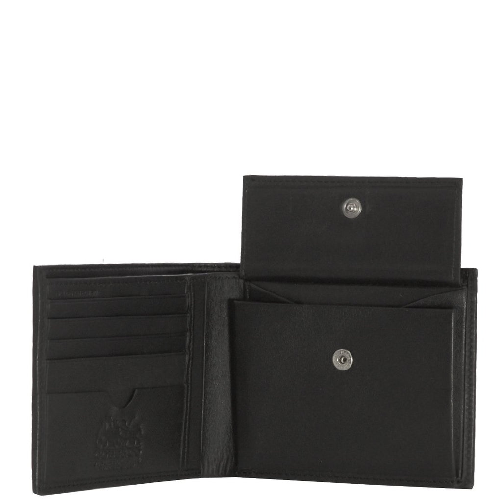 Corey RFID Leather Bi-Fold Wallet