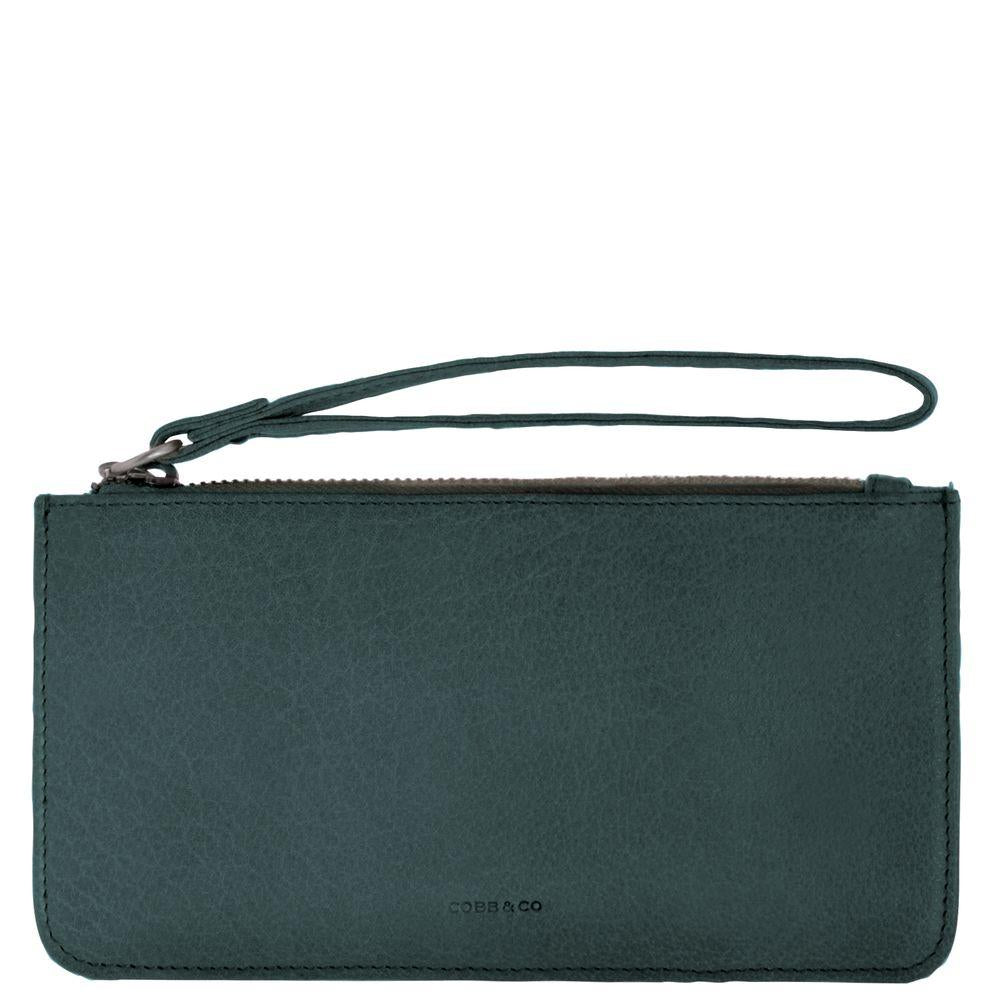 Vaucluse Leather Medium Pouch