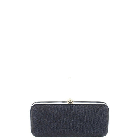 Gabee-Paige Sparkle Metal Box Clutch-NAVY-Clutch |Gabee.com.au leather, Bags & Accessories since 1949 - 1