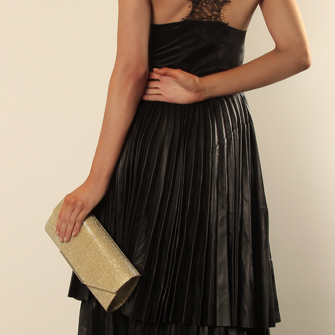 Gabee-Hayley Sparkle Clutch--Clutch |Gabee.com.au leather, Bags & Accessories since 1949 - 2