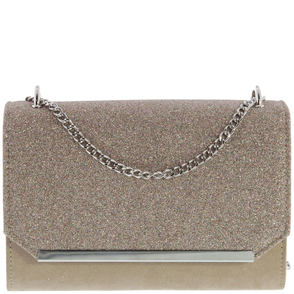 Tilly Suede & Glitter Cross body