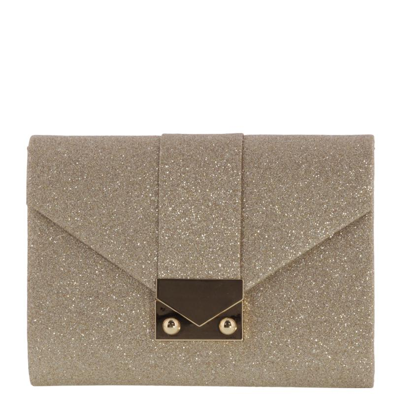 Pandora Sparkle Metallic Clutch