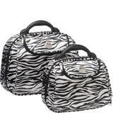 Cobb & Co-Kiev Beauty Case 2 Piece Set-ZEBRA-Cosmetic Bag |Gabee.com.au leather, Bags & Accessories since 1949 - 1