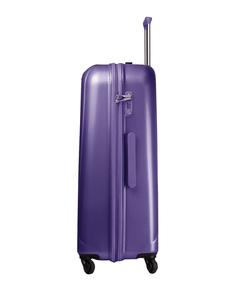 New York Purple On Board Hard Side Luggage