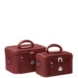 Cobb & Co-Serengeti Beauty Case 2 Piece Set-RED-Cosmetic Bag |Gabee.com.au leather, Bags & Accessories since 1949 - 3