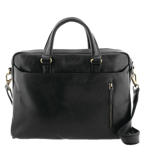 Seymour Large Leather Briefcase