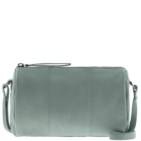 Sage Leather Camera Bag