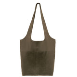 Suede Sorell Leather Tote