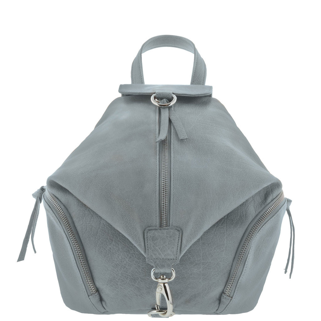 Roma Leather Multi Pocket Backpack