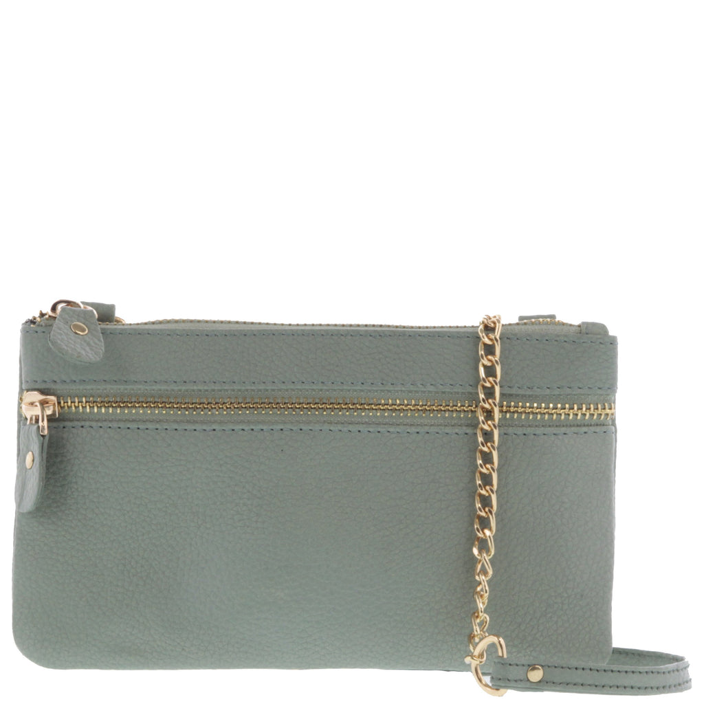Lainie Leather Crossbody Bag