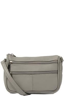 Cobb & Co-Joe Leather Crossbody-GREY-Crossbody Bag |Gabee.com.au leather, Bags & Accessories since 1949 - 1