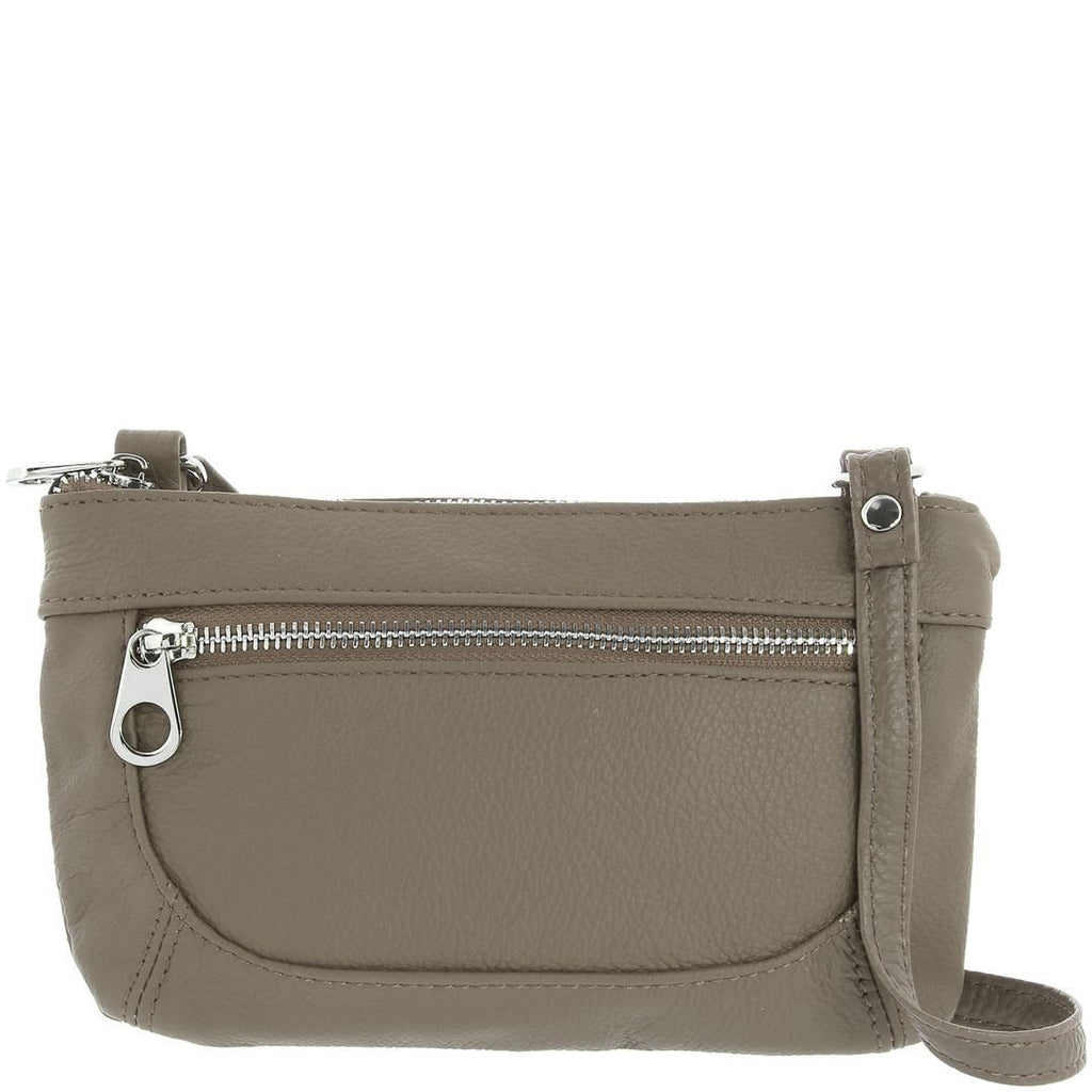 Cobb & Co-Jenny Leather Crossbody Bag-TAUPE-Crossbody Bag |Gabee.com.au leather, Bags & Accessories since 1949 - 1