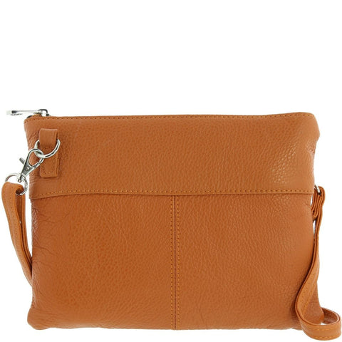 Cobb & Co-Shiloh Leather Crossbody Bag-ORANGE-Crossbody Bag - Gabee Bags | Gabee.com.au - 2
