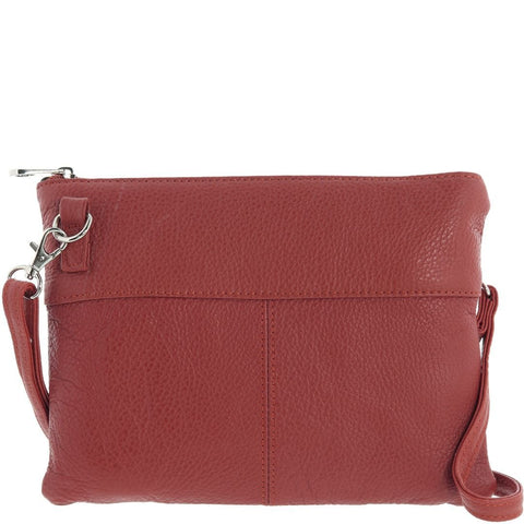Cobb & Co-Shiloh Leather Crossbody Bag-RED-Crossbody Bag - Gabee Bags | Gabee.com.au - 5