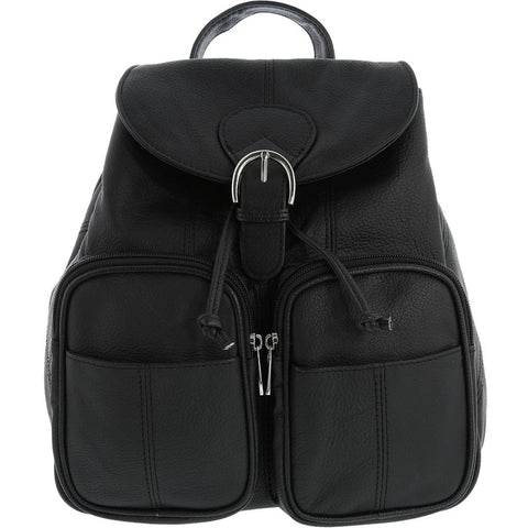 Cobb & Co-Adrianna Leather Backpack-BLACK-Backpack |Gabee.com.au leather, Bags & Accessories since 1949