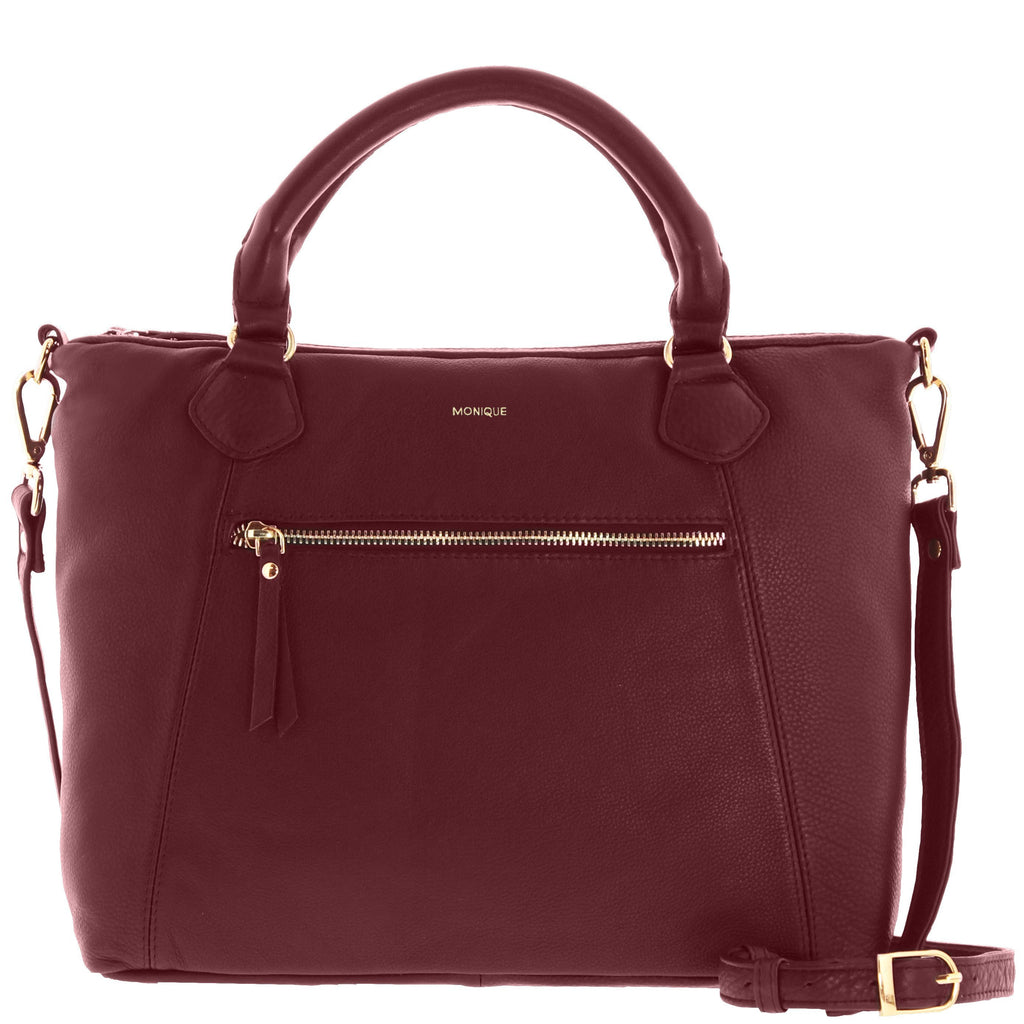 Zuri Leather Handbag