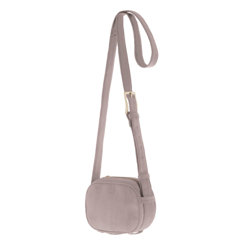 Anja Leather Camera Crossbody Bag