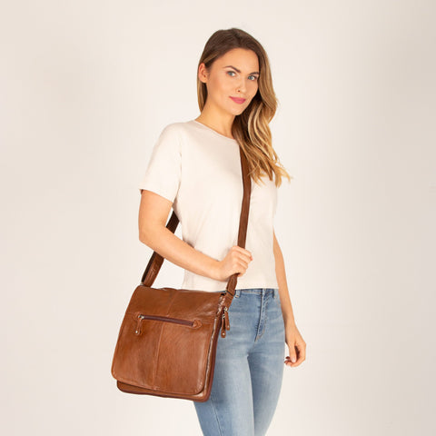 Alex Leather Satchel (Large)