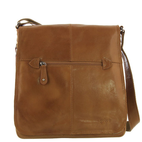 Cobb & Co-Alex Leather Satchel-TAN-Satchel - Gabee Bags | Gabee.com.au - 1