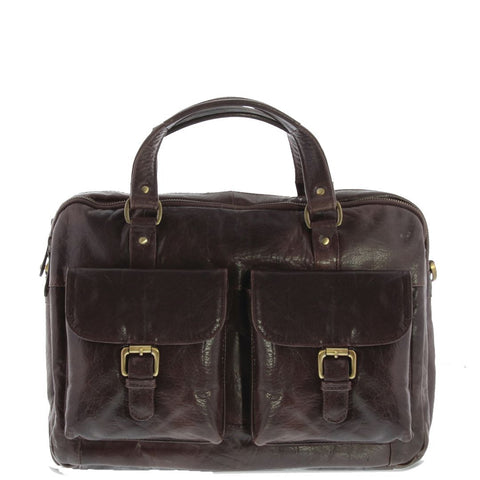Soho Mini Leather Briefcase