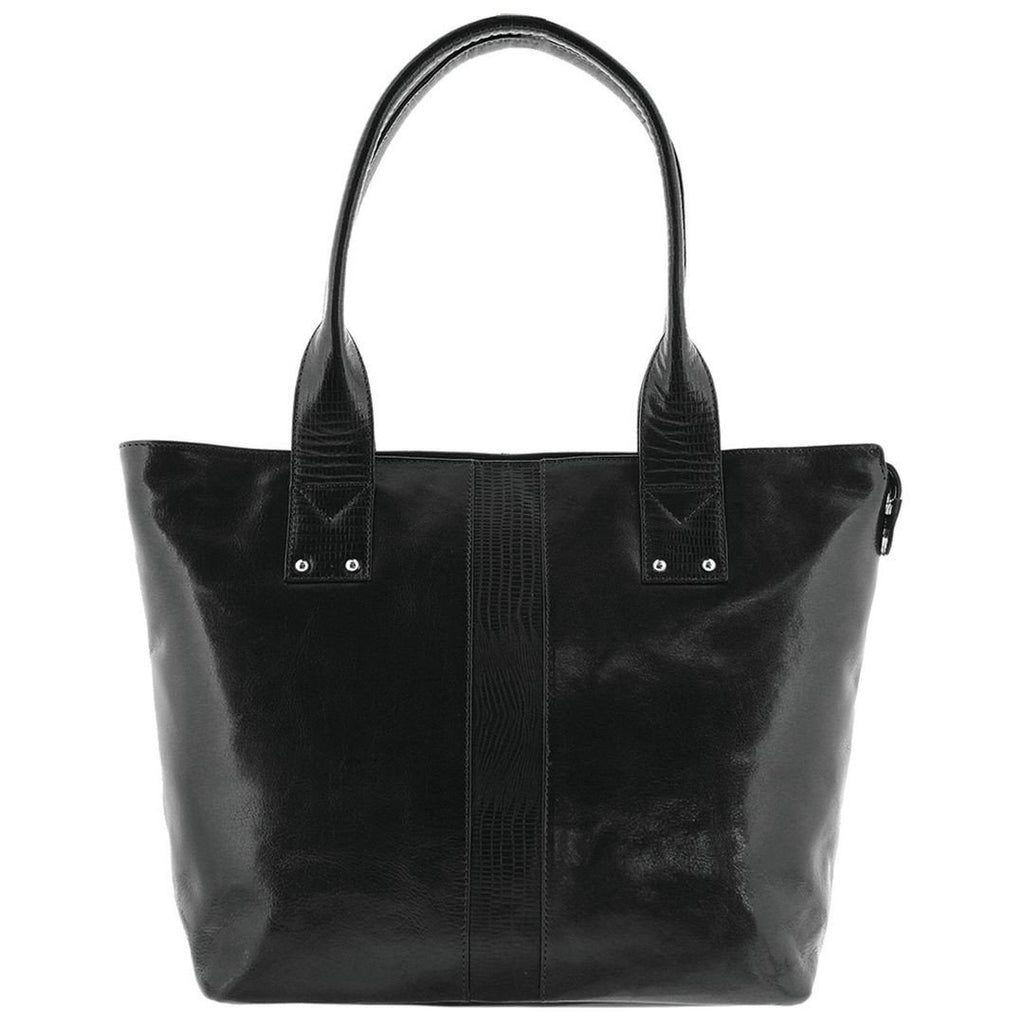 Cobb & Co-Selena Leather Bag-BLACK- - Gabee Bags | Gabee.com.au - 3