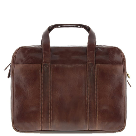 Kemp Leather Laptop Briefcase