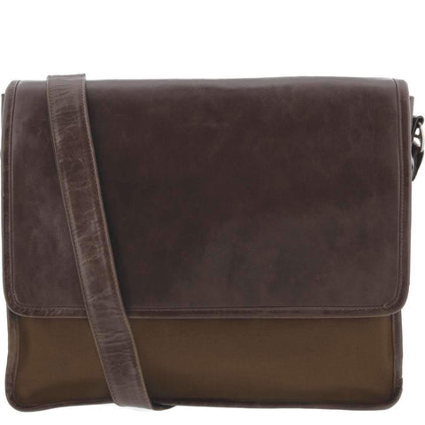 Davis Leather Messenger