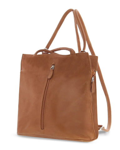Ellie Leather 2 in 1 Convertible Shoulder Bag / Backpack