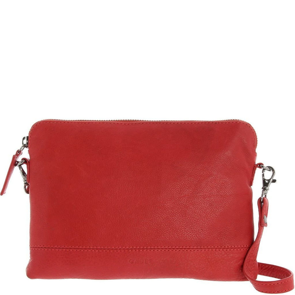 Gabee-Holly Leather Crossbody Purse-RED-Crossbody Bag - Gabee Bags | Gabee.com.au - 2