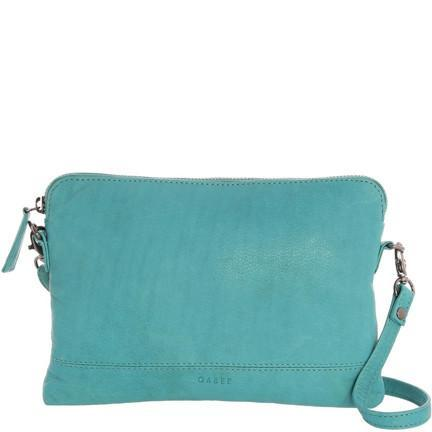 Gabee-Holly Leather Crossbody Purse-TURQUOISE-Crossbody Bag - Gabee Bags | Gabee.com.au - 12