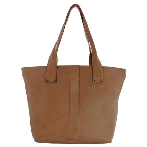 Gabee-Britney Leather Tote Bag-TAN-Tote - Gabee Bags | Gabee.com.au - 1