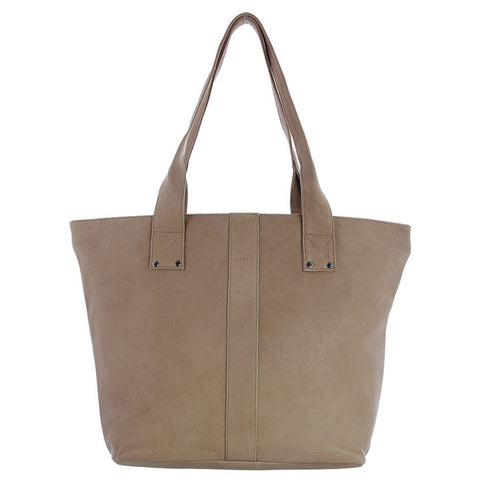 Gabee-Britney Leather Tote Bag-TAUPE-Tote - Gabee Bags | Gabee.com.au - 4