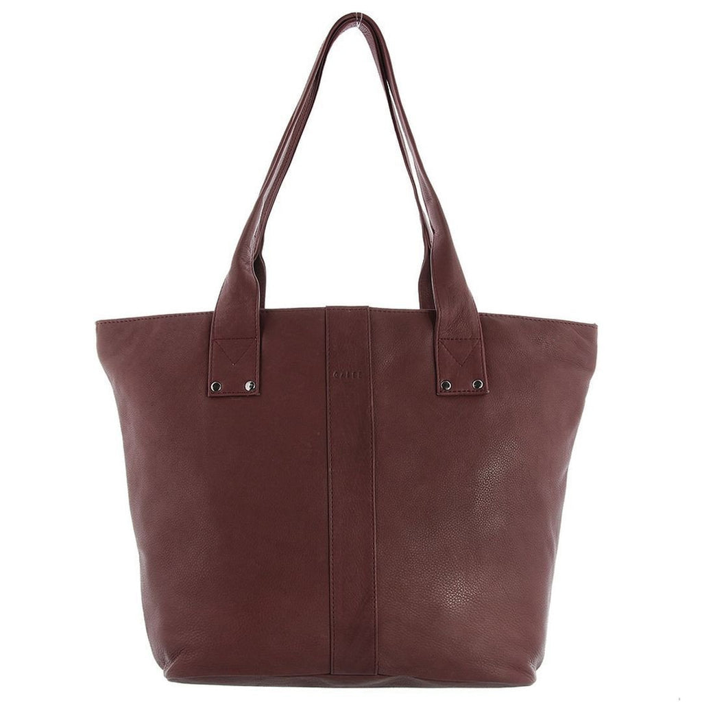 Gabee-Britney Leather Tote Bag-WINE-Tote - Gabee Bags | Gabee.com.au - 5