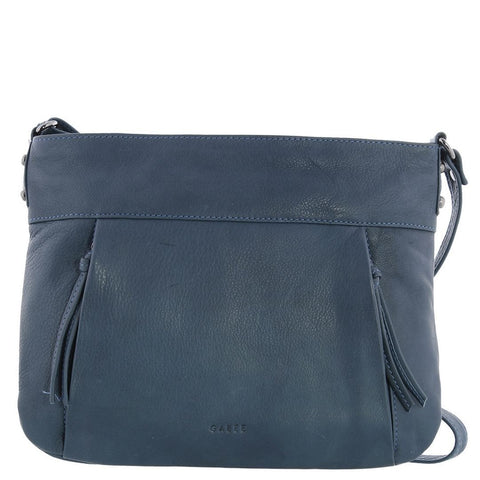 Gabee-Caitlin Leather Crossbody Bag-DENIM-Crossbody Bag - Gabee Bags | Gabee.com.au - 1