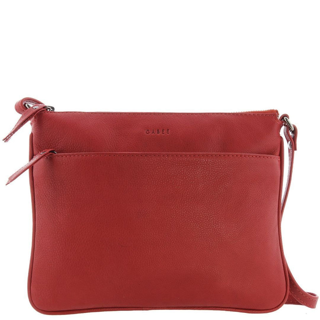 Gabee-Erica Leather Crossbody Bag-RED-Crossbody Bag - Gabee Bags | Gabee.com.au - 4