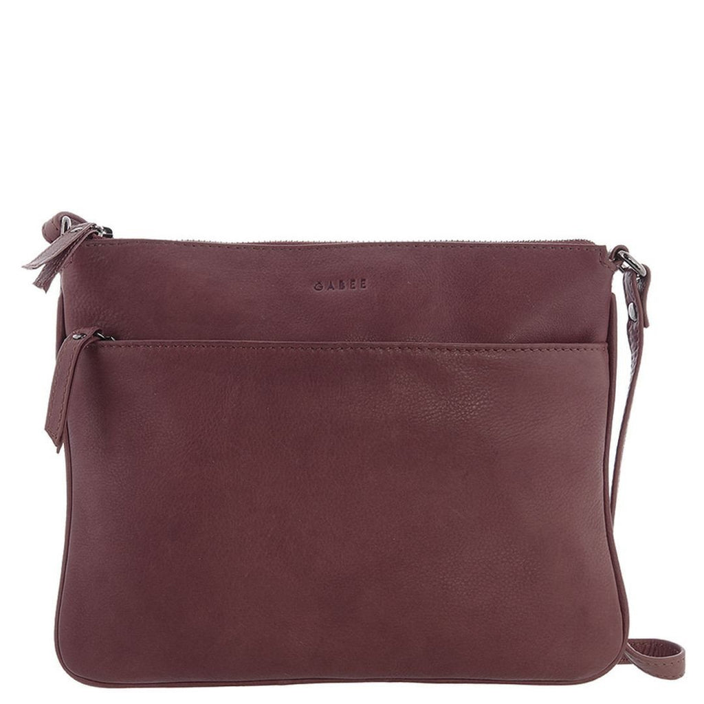Gabee-Erica Leather Crossbody Bag-WINE-Crossbody Bag - Gabee Bags | Gabee.com.au - 5