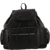Zayla Large Soft Leather Backpack