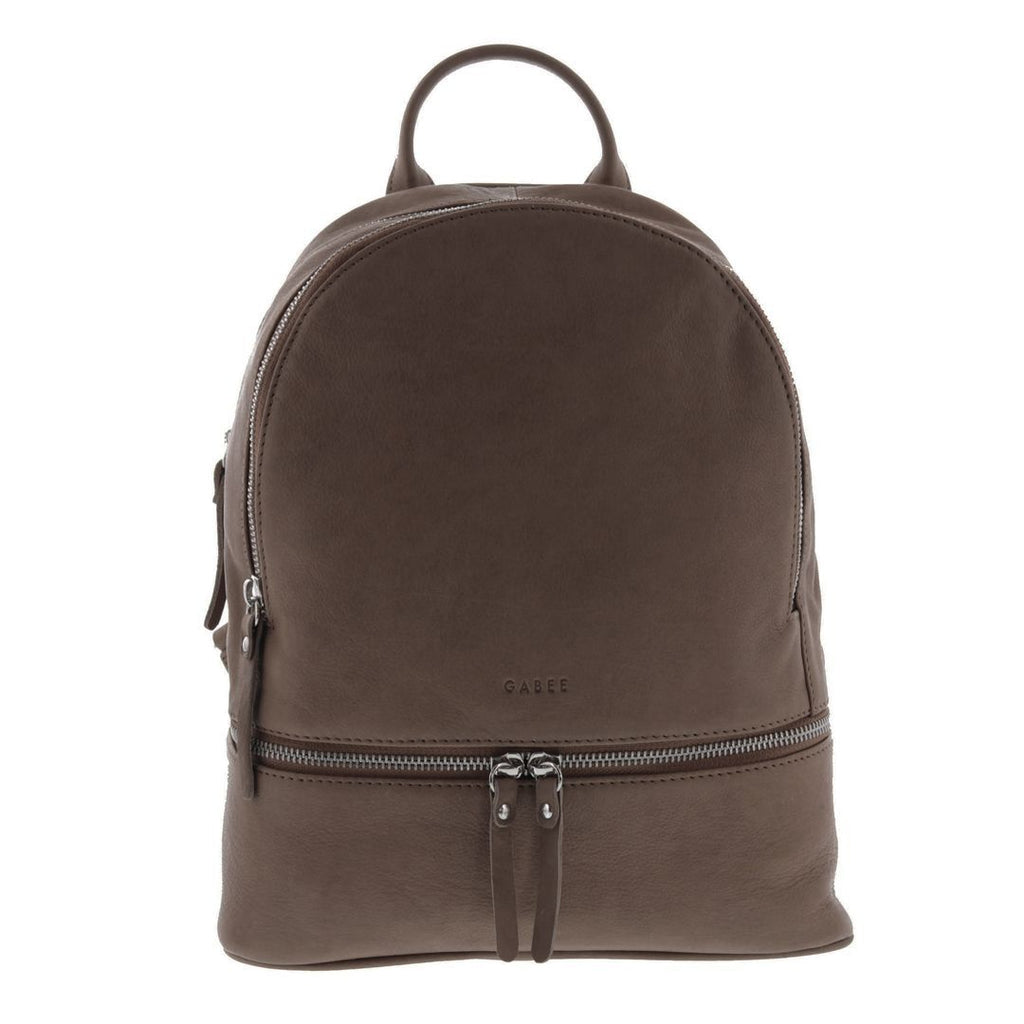 Meli Zip Soft Leather Backpack